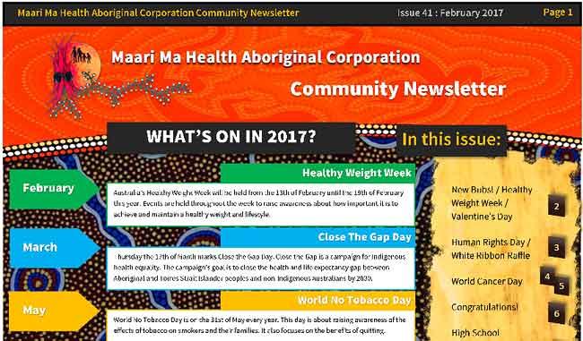 Maari Ma Health Community Newsletter Issue 41