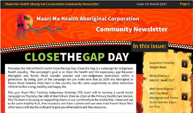 Maari Ma Health Community Newsletter Issue 42