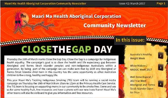 Maari Ma Health Community Newsletter Issue 42