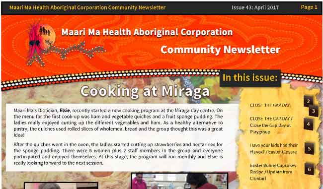 Maari Ma Health Community Newsletter Issue 43