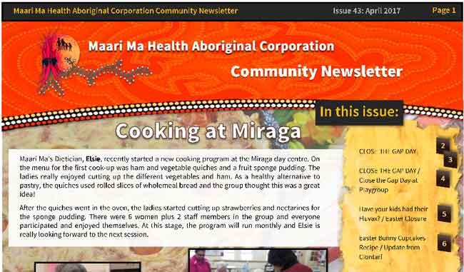 Maari Ma Health Community Newsletter Issue 43