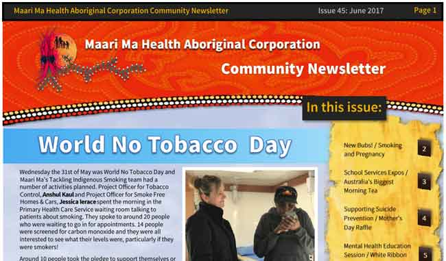 Maari Ma Health Community Newsletter Issue 45