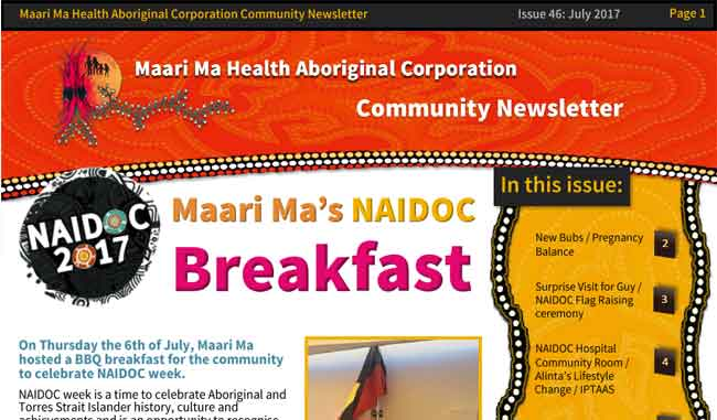 Maari Ma Health Community Newsletter Issue 46