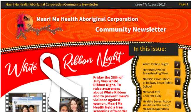 Maari Ma Health Community Newsletter Issue 47