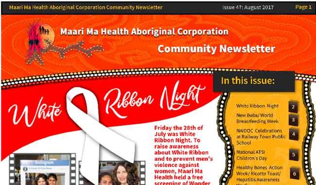 Maari Ma Health Community Newsletter Issue 47