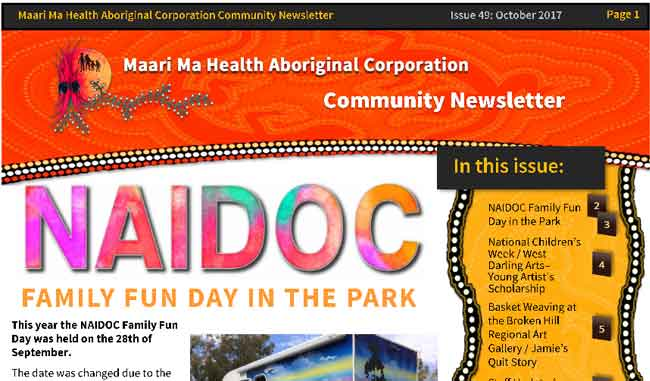 Maari Ma Health Community Newsletter Issue 49