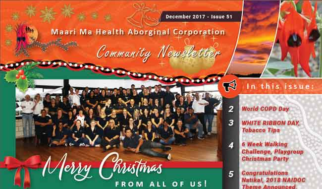 Maari Ma Health Community Newsletter Issue 51