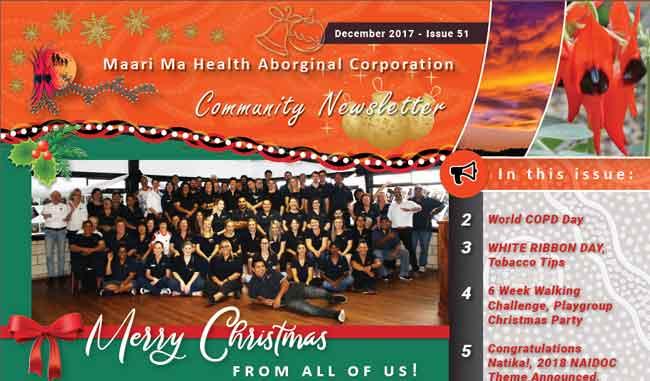 Maari Ma Health Community Newsletter Issue 51