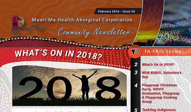 Maari Ma Health Community Newsletter Issue 52