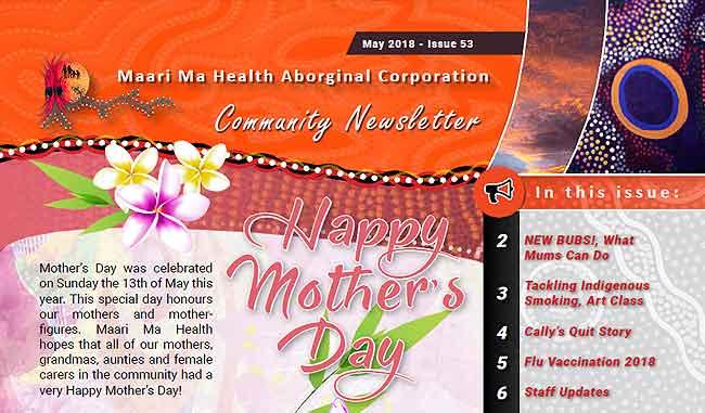 Maari Ma Health Community Newsletter Issue 53