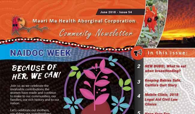 Maari Ma Health Community Newsletter Issue 54