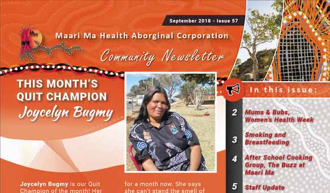Maari Ma Health Community Newsletter Issue 57
