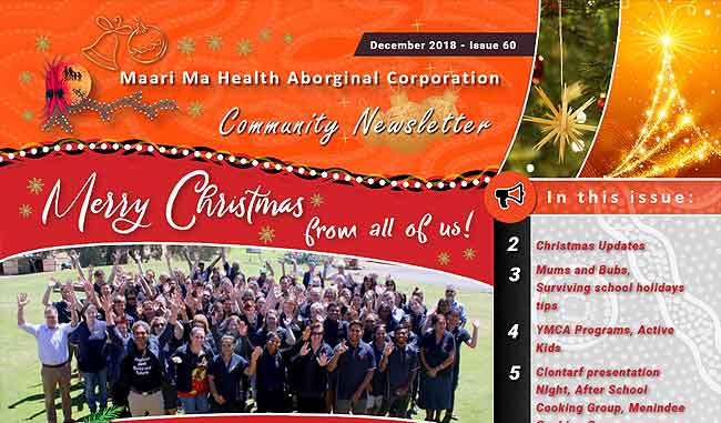 Maari Ma Health Community Newsletter Issue 60