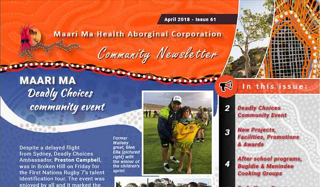 Maari Ma Health Community Newsletter Issue 61