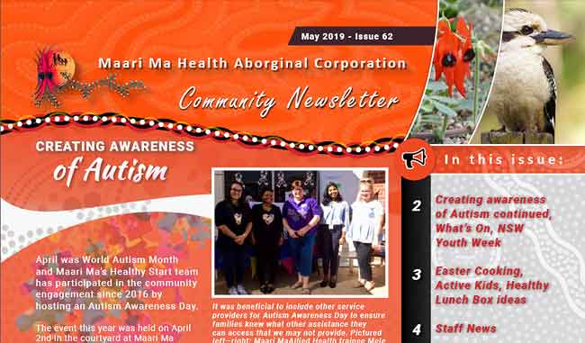 Maari Ma Health Community Newsletter Issue 62