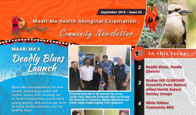 Maari Ma Health Community Newsletter Issue 63