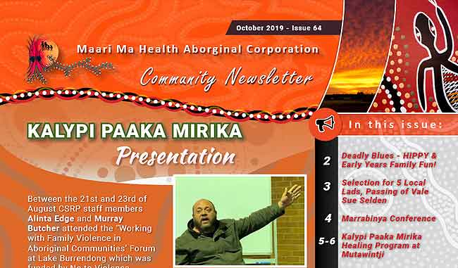 Maari Ma Health Community Newsletter Issue 64