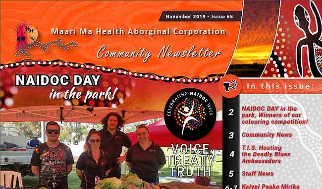 Maari Ma Health Community Newsletter Issue 65