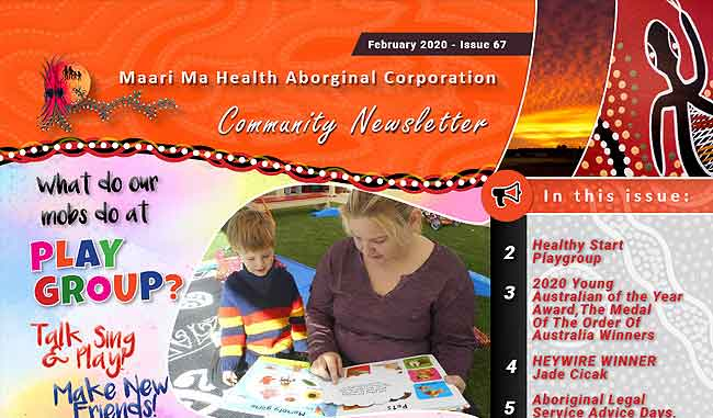 Maari Ma Health Community Newsletter Issue 67