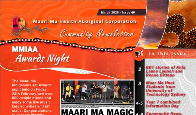 Maari Ma Health Community Newsletter Issue 68