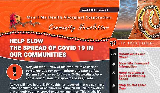 Maari Ma Health Community Newsletter Issue 69