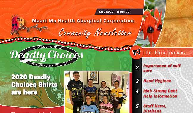 Maari Ma Health Community Newsletter Issue 70