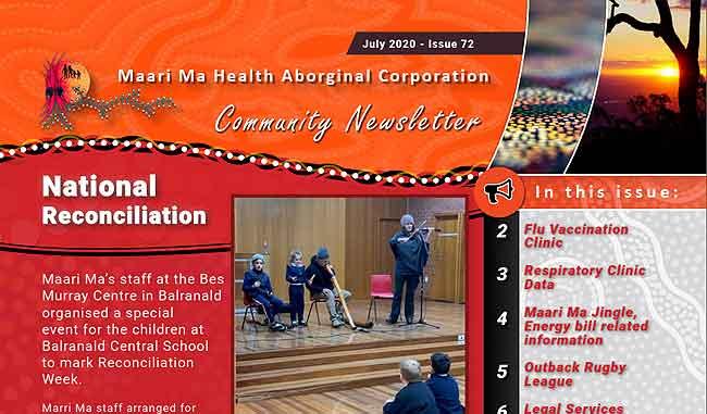 Maari Ma Health Community Newsletter Issue 72