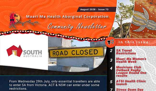 Maari Ma Health Community Newsletter Issue 73