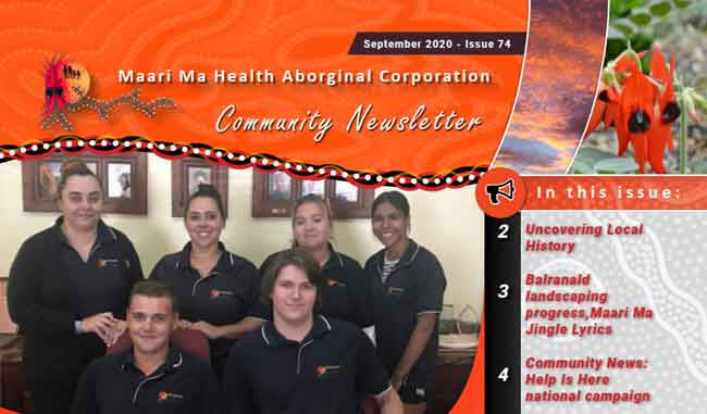 Maari Ma Health Community Newsletter Issue 74