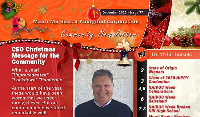 Maari Ma Health Community Newsletter Issue 77