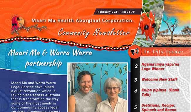 Maari Ma Health Community Newsletter Issue 79