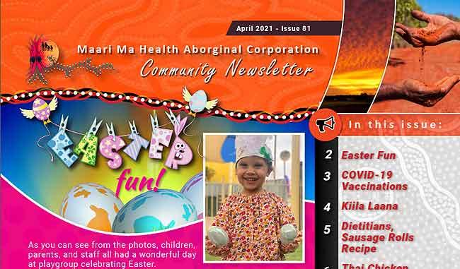 Maari Ma Health Community Newsletter Issue 81