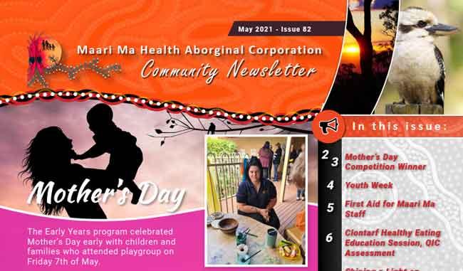 Maari Ma Health Community Newsletter Issue 82