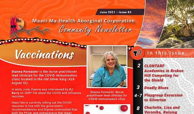 Maari Ma Health Community Newsletter Issue 83