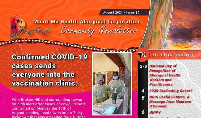 Maari Ma Health Community Newsletter Issue 85